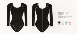 Costume 8005 (long sleeve leotard)