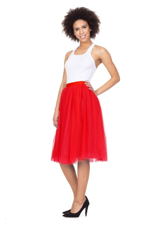 Tulle skirt with lining